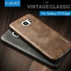 100% Genuine X-Level Retro Leather Soft Back Case Cover For Samsung Galaxy Model