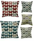BUTTERFLY CHENILLE SOFA/LOUNGE CUSHION COVERS,5 GREAT COLOURS,LOVELY QUALITY