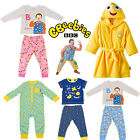 BBC CBEEBIES CHILDRENS PYJAMAS KIDS DRESSING GOWN ROBE MR TUMBLE NIGHTWEAR