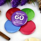 Personalised 60th Birthday Party Badge | Pin Style | 5cm Badge