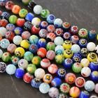 Genuine Millefiori Glass Beads   Size 4mm-21mm   Come In Many Shapes & Sizes