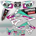 2000-2015 KX 65 GRAPHICS KIT KAWASAKI KX65 DECO MOTOCROSS DIRT BIKE MX DECALS