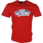 Vans Otw Logo Fill Mens T-shirt - Red Dahlia True Native Ditsy All Sizes