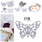 50-100 PCS Butterfly Paper Card For Wedding Party Bar Decor Venue Decoration