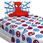 nEw BOLD SPIDERMAN BED SHEETS - Marvel Comics Superhero Bedding Accessories