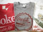 Abercrombie & Fitch Coke T-shirt Grey,White,Red Classic LTD ED Men S,M,L,XL,XXL