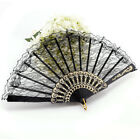 Vintage Chinese Style Lace Dancing Fun Folding Hand Fan Spanish Party Fan