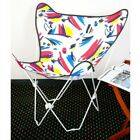 Внешний вид - Butterfly Chair Combo: Silver Frame w/Splash Cover