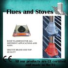 roof flashing for stove flue pipe & twin wall flues