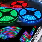 2 x 3528 5m RGB 600 LEDs SMD Flexible Light Strip Lamp+24 Key IR EA77
