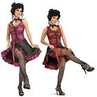 Cancan Burlesque Dancer Costume    (Choose Your Color) Girl Western Saloon West