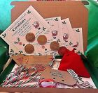 EXTRA child Santa xmas Eve Box Personalised A4 Size Letter Magic Key & deer Food