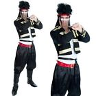 Mens 80s 80s New Romantic Fancy Dress Costume Mens Adam Ant Outfit New FS