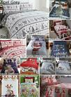 Christmas Kids Quilt Duvet Cover Bedding Bed Sets 5 Sizes Festive Santa Xmas New