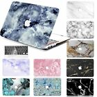 "Rubberized Pattern Marble Hard Case Key Cover For Macbook Air 12""11"" Pro 15"" 13"""