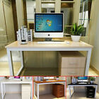 Modern Computer PC Desk Home Office Study Writing Table Bedroom Wooden & Metal