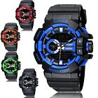 Kyпить OHSEN Sport Waterproof Mens LCD Digital Analog Quartz Date Alarm Wrist Watch на еВаy.соm