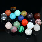 16mm  Natural Gemstone Sphere Crystal Ball Healing Rock Stone Decor Massage