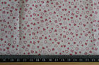Small Dusky pink Hearts ditsy pattern 100% cotton  Fabric material
