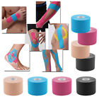 4/6 Rolls Kinesiology Tape Sports Physio Muscle Strain Injury Support UK Seller