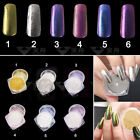 2g/box Mirror Powder Gold Silver Pigment Nail Glitter Nail Art Chrome Decoration