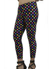Vivian's Fashions Long Leggings - Polka Dots (Junior and Junior Plus Sizes)