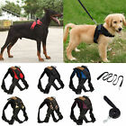 dog harnesses for pulling - No Pull Adjustable Dog Vest Harness Leash Collar Set for Small/Medium/L