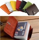 Best Sales Women 24 Card ID Credit Card Holder PU Leather Pocket Purse Wallet