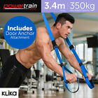 Suspension Trainer Resistance Straps Training Strength Exercise Home Gym MMA