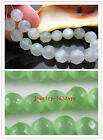 30 Cats Eye Faceted Gemstone Round Loose bead  2colors -1 10mm G118 G119