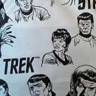 Star Trek Grey Cotton Fabric featuring Characters, 110cm wide