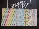 Внешний вид - Stampin' Up Designer Series Paper Card Front Layers A2 DSP Fronts (2013-2015)