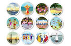beach door knobs - Retro Coastal Life Drawer Pulls Beach Beachhouse Boat Swimmer Flamingo Door Knob