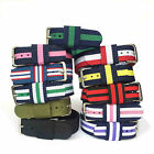 Military Army Strong Fabric Canvas Nylon Wrist Watch Band Strap Belt 18/20mm