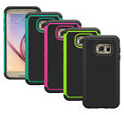 Hybrid Armor ShockProof Tough Dual Layer Protective Case for Samsung Galaxy S7