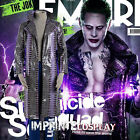 Suicide Squad Joker Faux Leather Outfit Cosplay Costume Full Set