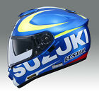 SUZUKI BLUE/YELLOW SHOE GT-AIR ECSTAR STREET FULL FACE HELMET (S-B SIZES)
