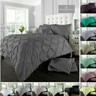 Alford Pintucks Style Luxurious Duvet Covers Quilt Covers Bedding Sets All Sizes image