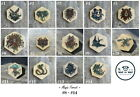 Wood brooch badge pin Magic Cat Swallow Eagle Deer Cobra Wolf Unicorn Waf-Waf