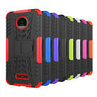 Rugged Armor Kickstand Protective Cover Case for Motorola Moto Z Force Droid