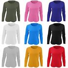 SOLS Womens/Ladies Majestic Long Sleeve Coloured Cotton T-Shirt