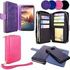 For Samsung Galaxy Note 7 Detachable Magnetic Leather Flip Card Slot Wallet Case