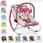 Baby Swinging Bouncer Chair Arch Toy Comfortable Safety Rocker Colourful Designs