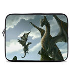Zipper Sleeve Bag Cover - First Lesson - Dragons - Fits Most Laptops + MacBooks