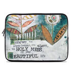 Zipper Sleeve Bag Cover - Holy Mess - Fits Most Laptops + MacBooks