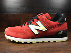 New Balance US574SL -USA 574 Connoisseur -GLOW IN THE DARK- (Red / Black) MENS