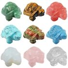 Home Decorating Ideas Bathroom Carved Turtle Tortoise Animal Pocket Stone Crystal Figurine Healing Statue Craft