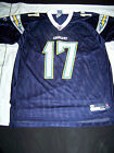 Reebok Men's San Diego Chargers #17 Philip Rivers Jersey $44.99 USD