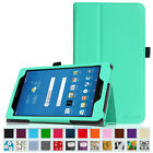 Premium PU Leather Slim Folio Stand Cover Case For AT&T Trek 2 HD 8-inch 2016
