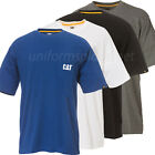 Caterpillar T shirt Mens CAT Short Sleeve Pocket  Logo Tee  T- Shirts image